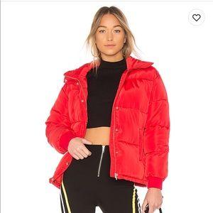 NEW Lovers +Friends Summit Puffer jacket